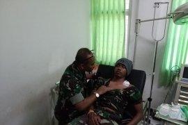 Berusaha lerai perang suku, satu prajurit TNI terkena panah di Puncak Jaya