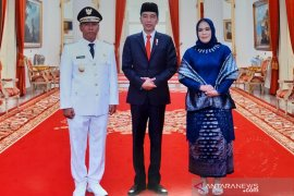 "Wagub Dedy ""Black"" dilantik Presiden Jokowi di Jakarta"