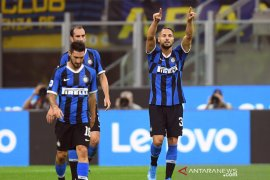 Inter kembali amankan posisi puncak usai tundukkan Lazio 1-0