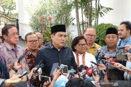Presiden Jokowi  bahas kondisi bangsa dengan tokoh agama