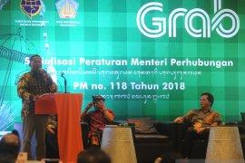 Grab-Ditjen Hubdar sosialisasikan PM 118/2018