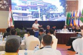 Gubernur Jawa Barat kumpulkan kepala daerah kabupaten/kota di Pangandaran