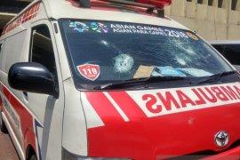 Polisi mengakui salah viralkan video ambulans angkut batu dan perusuh