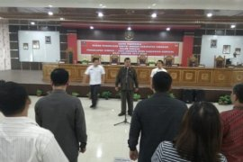 Calon Anggota DPRD Sanggau gladi resik