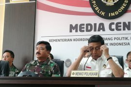 Panglima TNI katakan 3.000 personel TNI amankan Istana dan DPR