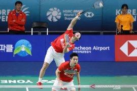 Minions lanjut ke perempat final bulutangkis Korea Open 2019,