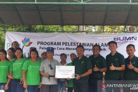 PLN Bali berikan pelatihan perawatan penyu demi pelestarian alam
