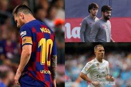 Lionel Messi cedera lagi, Derby Madrid jadi sorotan