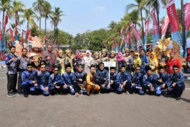 Tim penggerak PKK Kabupaten Batanghari juara I Parade Nusantara