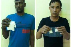 Satresnarkoba Polres Deliserdang ringkus dua bandar narkotika