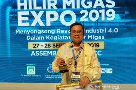 Bupati Gorontalo Utara terima penghargaan Hilir Migas Expo 2019 dari Kementerian ESDM