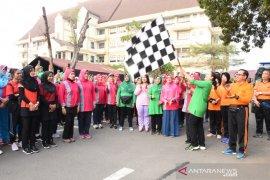 Polda Jambi gelar olahraga bersama peringati HKGB