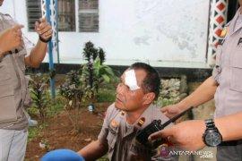 Tiga polisi luka akibat bentrok dengan mahasiswa di Padangsidimpuan
