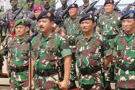 Panglima TNI: Siapa pun gagalkan pelantikan presiden akan berhadapan dengan TNI