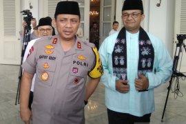 Kapolda Metro sambangi Balai Kota koordinasikan keamanan Jakarta