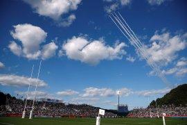 Topan Hagibis, laga Inggris vs Prancis dan Selandia Baru vs Italia dipastikan batal