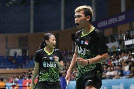 Korea Open 2019, ganda campuran Indonesia Rinov/Pitha dihentikan unggulan empat