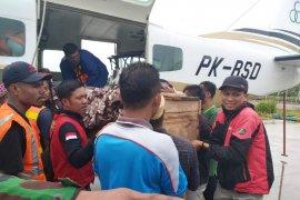 Dua jenazah korban penembakan di Ilaga diterbangkan ke Timika