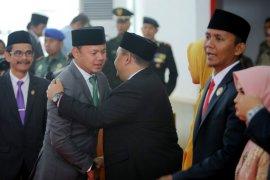 Atang Trisnanto resmi jabat Ketua DPRD Kota Bogor