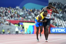 Aksi sportif Braima membuat dunia terpana