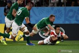 Piala Dunia Rugby, Jepang ukir kejutan dengan tundukkan Irlandia 19-12