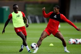 Mane dan Origi sudah latihan lagi, siap bela Liverpool vs Sheffield