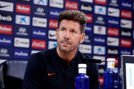 Diego Simeone antisipasi tren positif Real jelang Derby Madrid