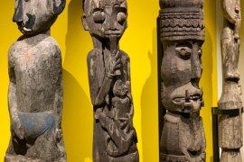Ratusan artefak Dayak pukau pengunjung pameran di Swiss