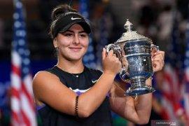 Juara US Open Bianca Andreescu lolos ke WTA Finals