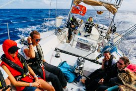 Kirana dari Indonesia mengarungi samudra atlantik
