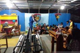 Polair Polres Bangka Barat ajari anak pesisir mengaji