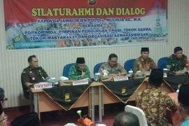 Ketua Sementara DPRD hadiri silatuhrahmi dan dialog Kamtibmas