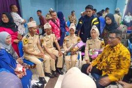 Bupati Citra hadiri pelantikan taruna STTD Bekasi asal Kayong Utara
