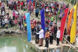 Kirab larung Cai Di Raga di Cirebon, Hasto ajak rawat sungai
