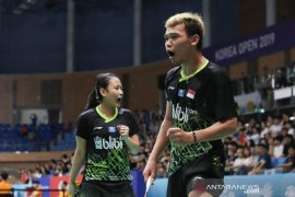 Denmark Open 2019  - Ditekuk Lu/Chen, Rinov/Pitha terhenti di babak pertama