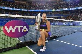 Sabalenka pertahankan gelar Wuhan Open