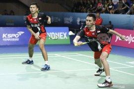 Denmark Open - Kemenangan Fajar/Rian genapi ganda putra ke babak kedua