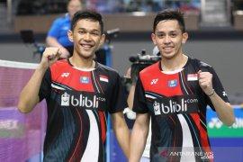Fajar/Rian lolos babak dua Indonesia Masters