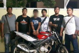 Polres Simalungun ungkap pencurian motor di Bandar Huluan