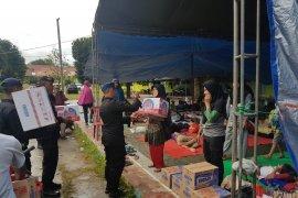 Polda Maluku bantu  pengungsi korban gempa di pulau Ambon