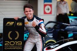 De Vries juara dunia Formula 2, tiga balapan tersisa
