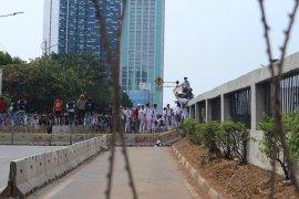 Polisi imbau anak di bawah umur tinggalkan area demo  DPR