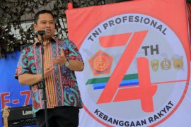 Hadapi dinamika kehidupan bangsa, Arief sampaikan pesan damai