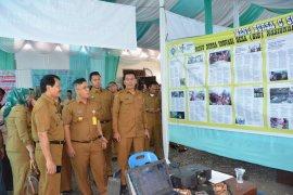 Bursa inovasi Desa Klaster Teluk Aru di Pangkalan Brandan