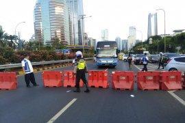 Tol dalam kota Tomang-Cawang tutup, lalu lintas dialihkan