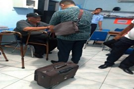 Mantan Kaban LH Pemkab Langkat dieksekusi ke LP Tanjung Gusta Medan