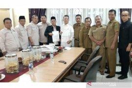 NPHD Kabupaten Tapanuli Selatan ditandatangani, anggaran Pilkada 2020 Rp30,2 milyar