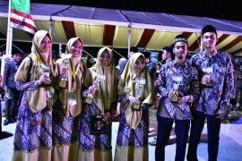 Kafilah Aceh Tamiang bawa 10 Piala MTQ Aceh ke-34 di Pidie