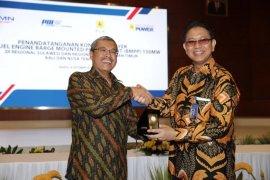 PAL dan Indonesia Power teken kontrak pembangunan pembangkit terapung