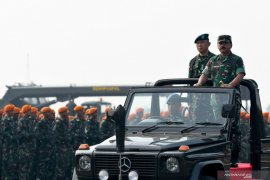 Apel Kesiapan Pasukan TNI Jelang Pelantikan Presiden dan Wapres Page 1 Small